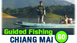 Information about guided fishing Thailand trips in and around Chiang mai