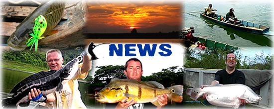 Latest news and catch reports from Dreamlake fishing resort