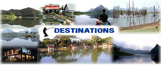 Chiang mai fishing holiday destinations
