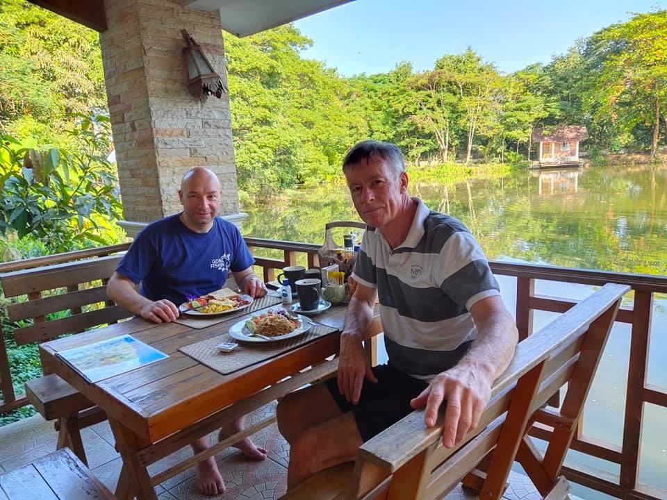 Dreamlake fishing resort Chiang mai restaurant