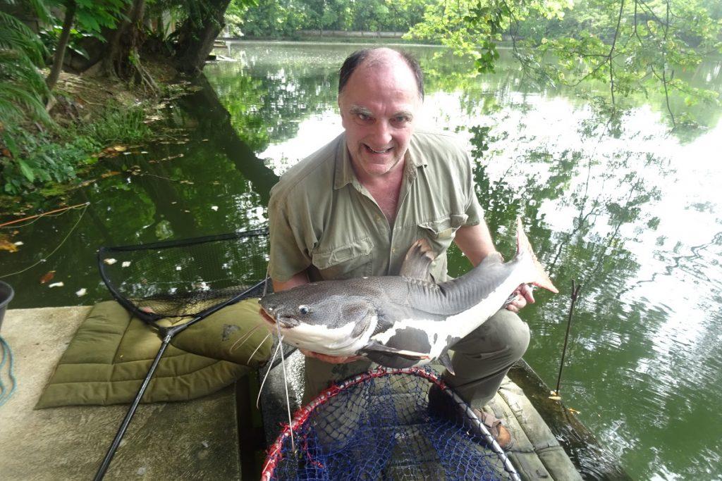 Steve Redtail Catfish Dreamlake Fishing Resort Thailand